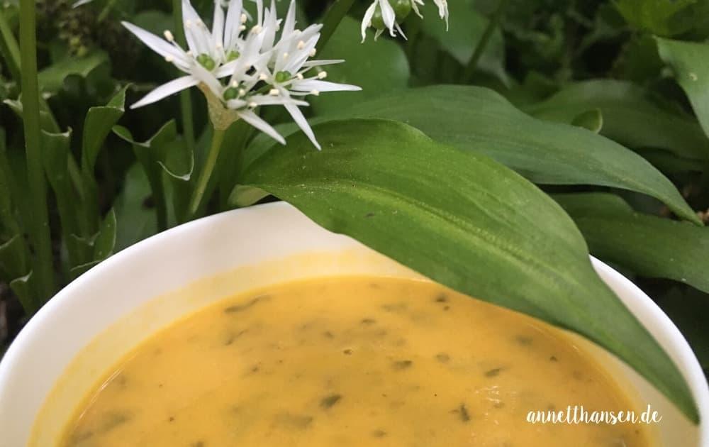 Bärlauch Süßkartoffel Suppe by Annett Hansen