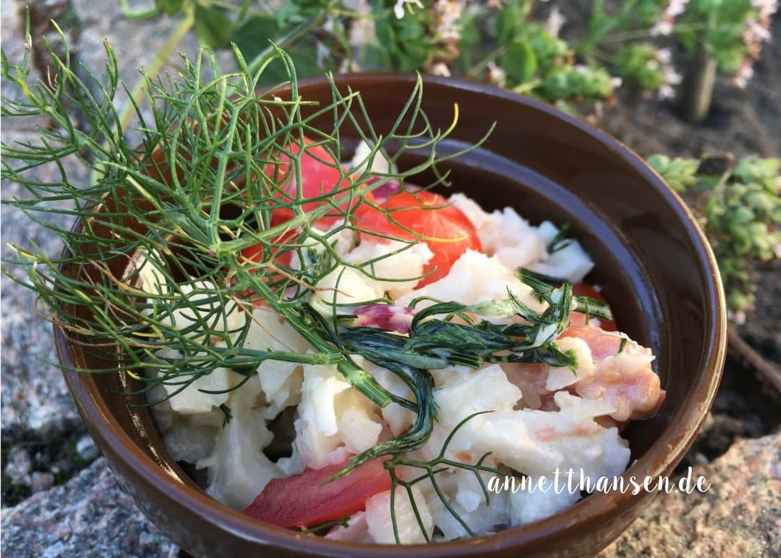 Kohlrabi Tomaten Salat von Annett Hansen