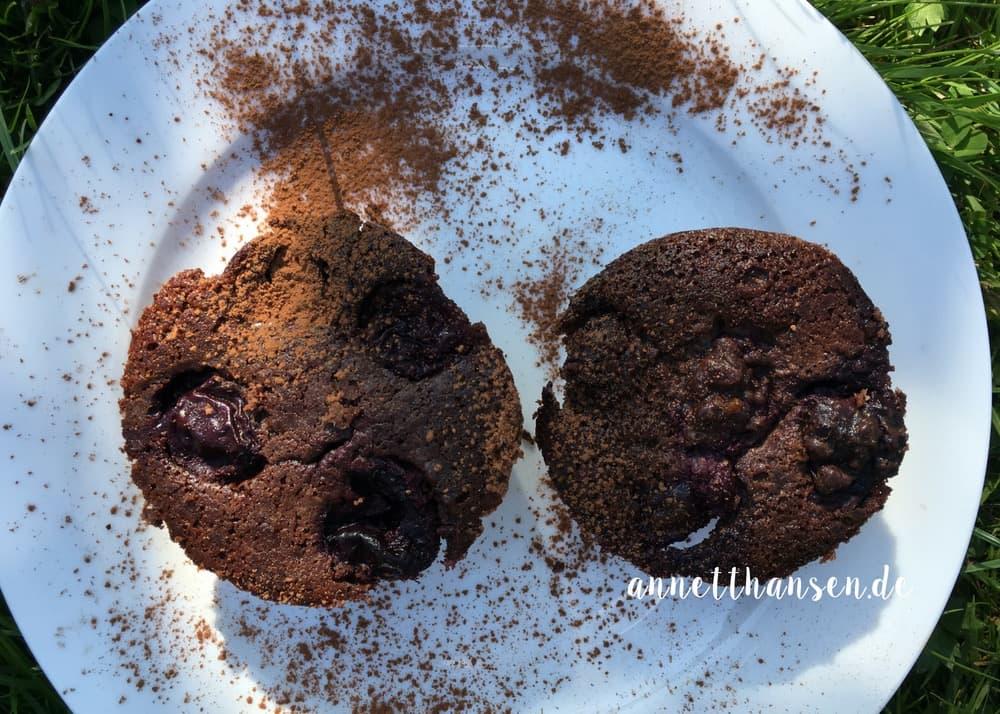 Schokoladen Süßkirschen Muffins by Annett Hansen