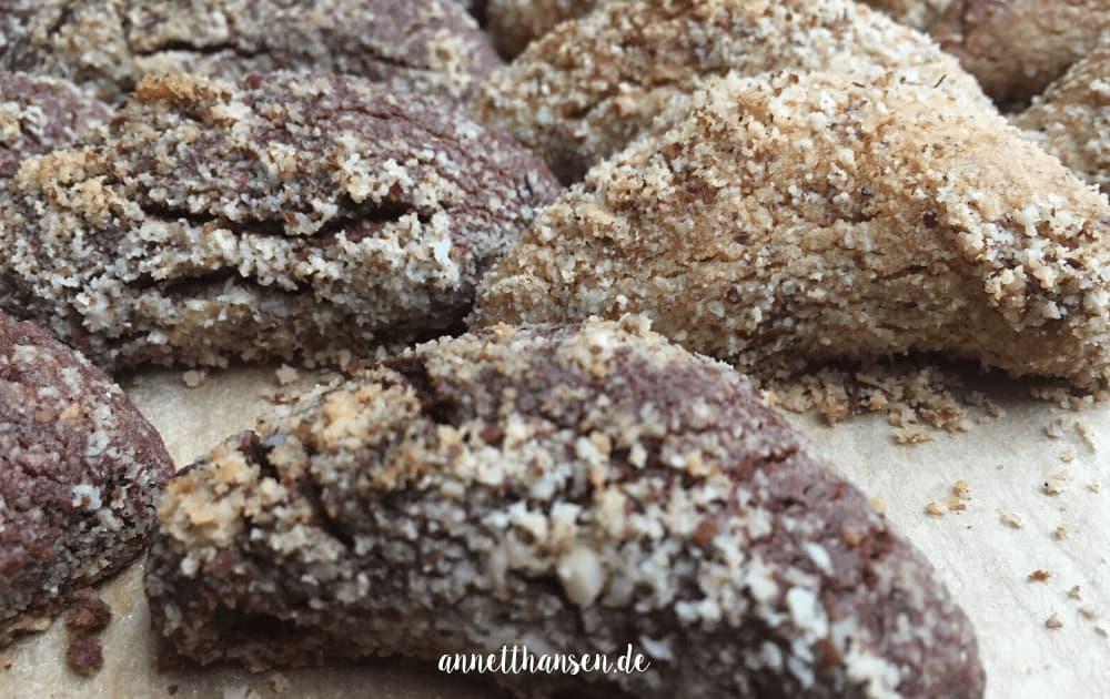 Schokoladendinkelkipferl by Annett Hansen