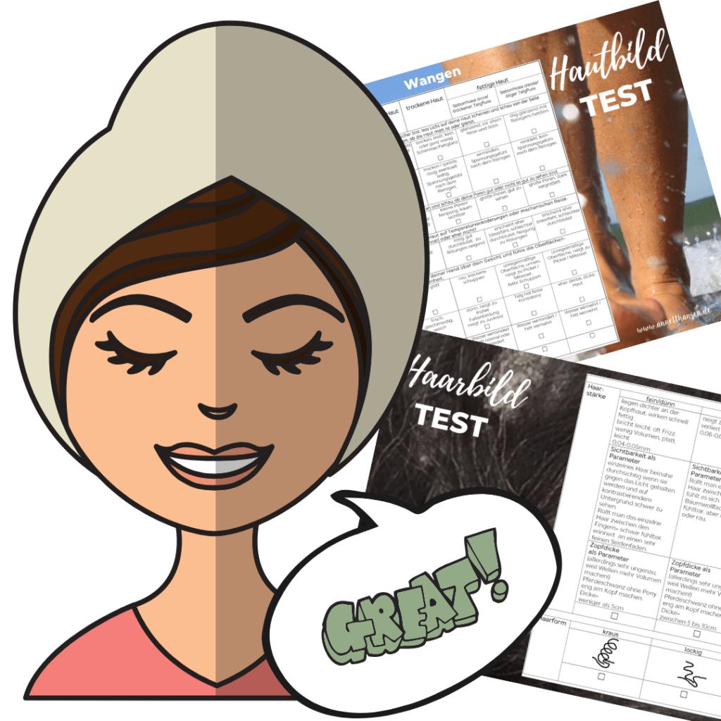 Hautsache Insider Haut und Haarbildtest