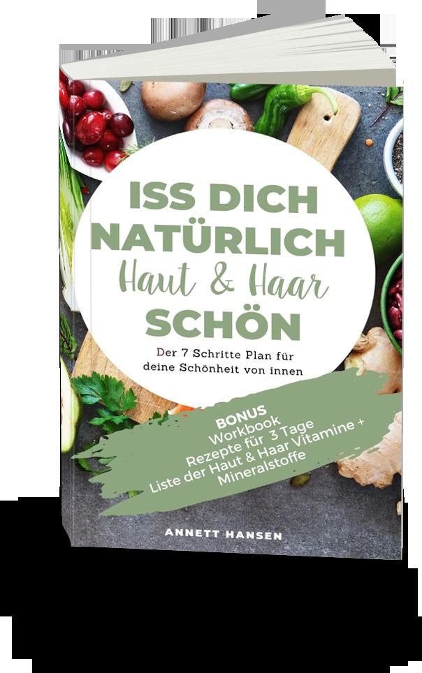 Buch Iss Dich Haut und Haar schön Autorin Annett HAnsen