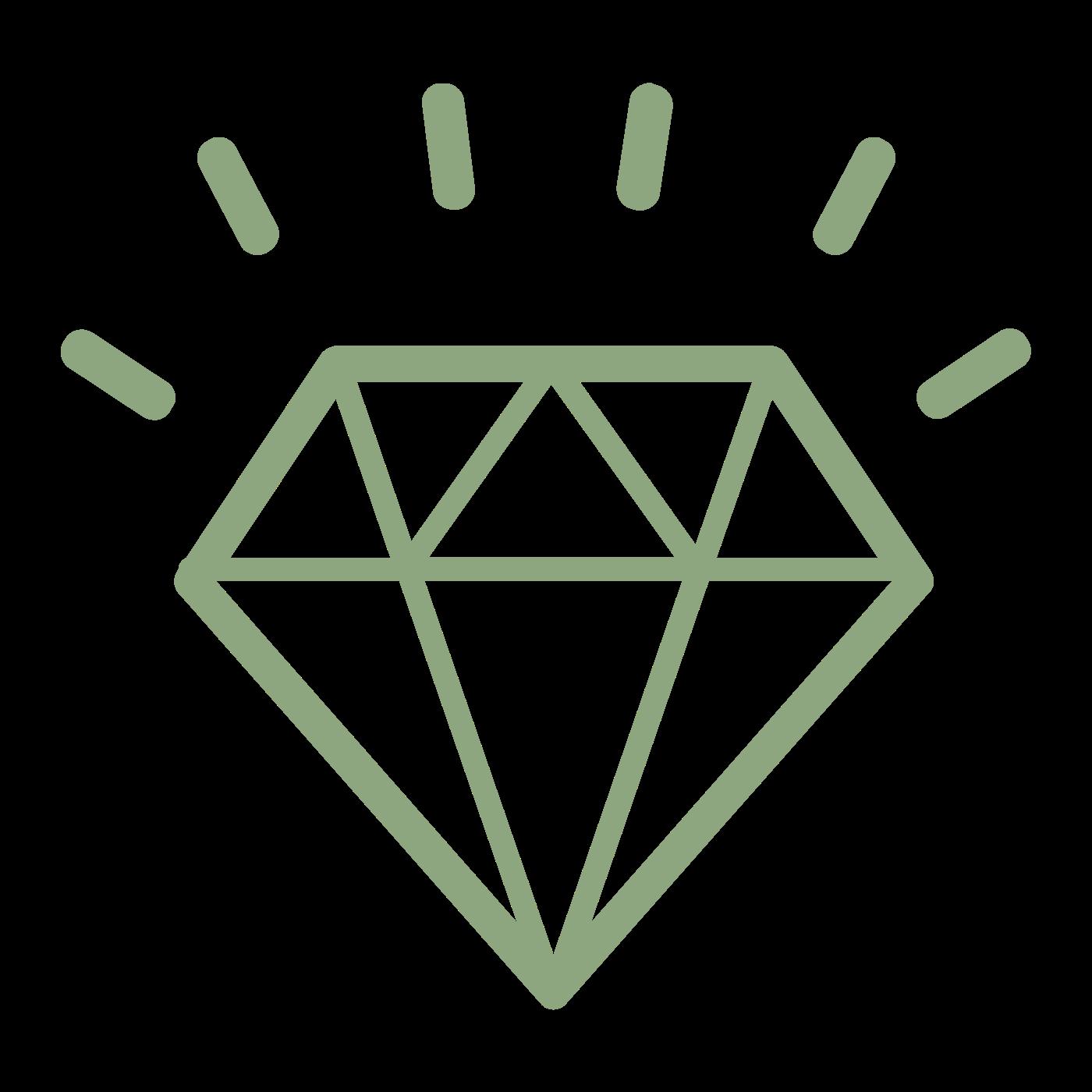 Diamant grün