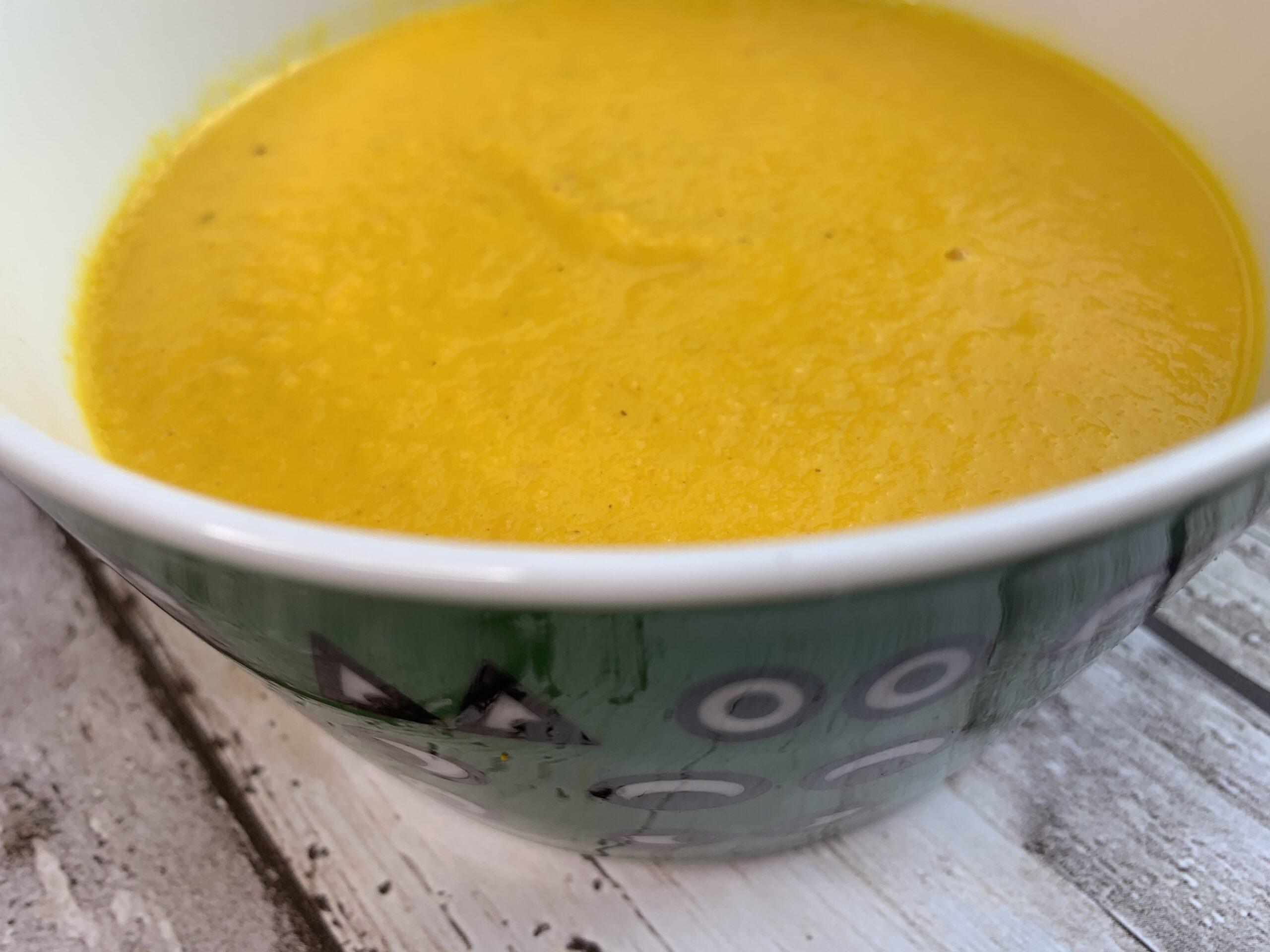 Süßkartoffel Mango Suppe Gesundheitsexpertin Annett HAnsen