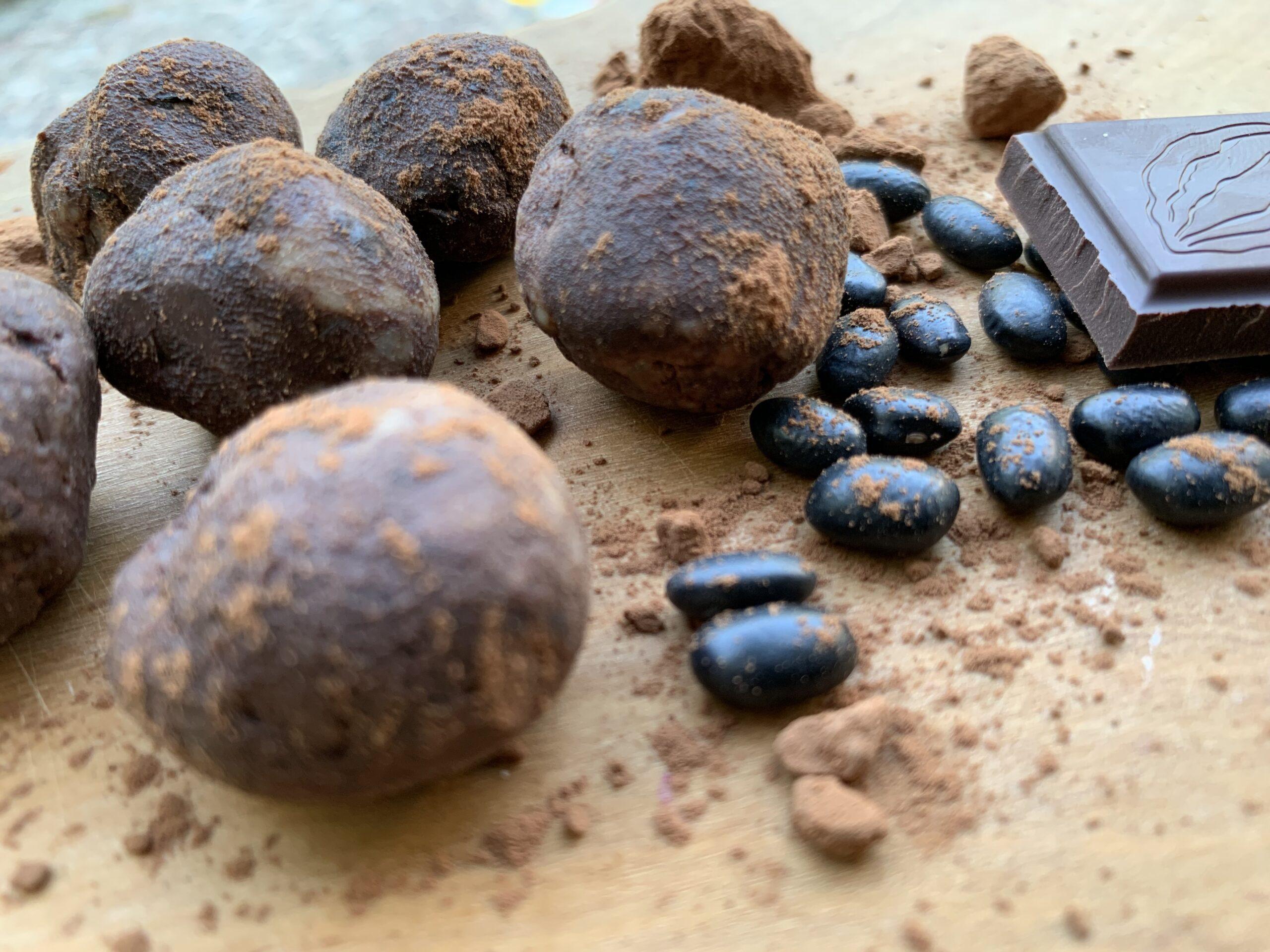 schwarze Bohnen Schokoladenkugeln Gesundheitsexpertin Annett Hansen